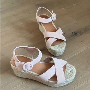 Halogen platform sandals